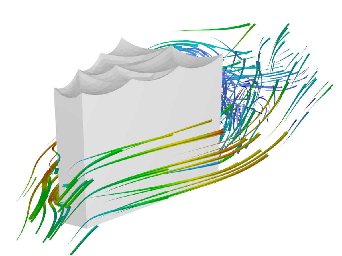 RWIND Simulation | Simulation of wind-flowed objects