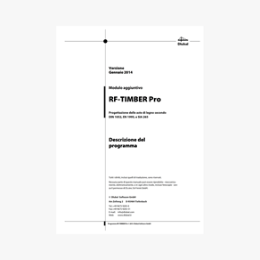 Manuale TIMBER Pro