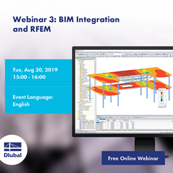 Webinar 3: BIM Integration \n and RFEM