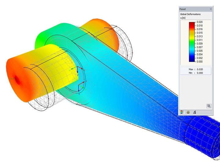 Nonlinear FEA of Steel Connections in RFEM