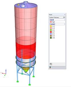 Tank, Silo, and Shell Modeling in RFEM