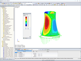 Display of Load Distribution in RFEM