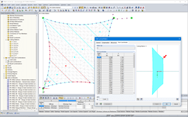 Display of cutting patterns in the RFEM model