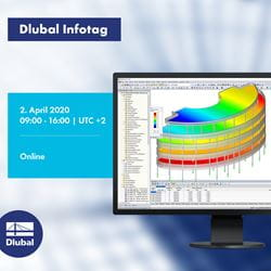 Dlubal-Infotag online am 02.04.2020