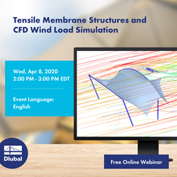 Tensile Membrane Structures and \n CFD Wind Load Simulation