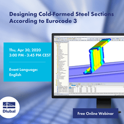 Designing Cold-Formed Steel Sections According to Eurocode 3