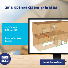 2018 NDS and CLT Design in RFEM