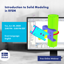 Introduction to Solid Modeling \n in RFEM