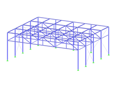 Steel Structure with Cold-Formed Steel Sections