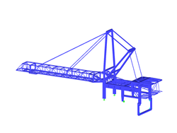 Superstructure of Ship Loader