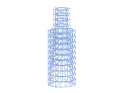 Scaffolding Structure for Steeple Renovation in Kerpen, Germany