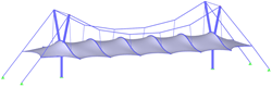 Arch -supported membrane