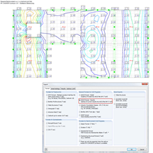 DXF Exporting Results from RF-CONCRETE Surfaces