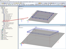 Displaying Intersections of Free Loads