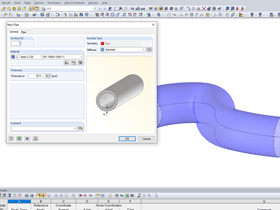 Modeling a Pipe Surface