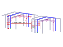 Considering Roof Overhangs for Automatic Load Generation