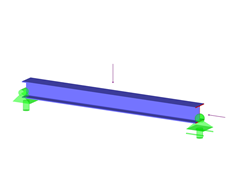 AISC H.1B - Combined Compression and Bending Moment