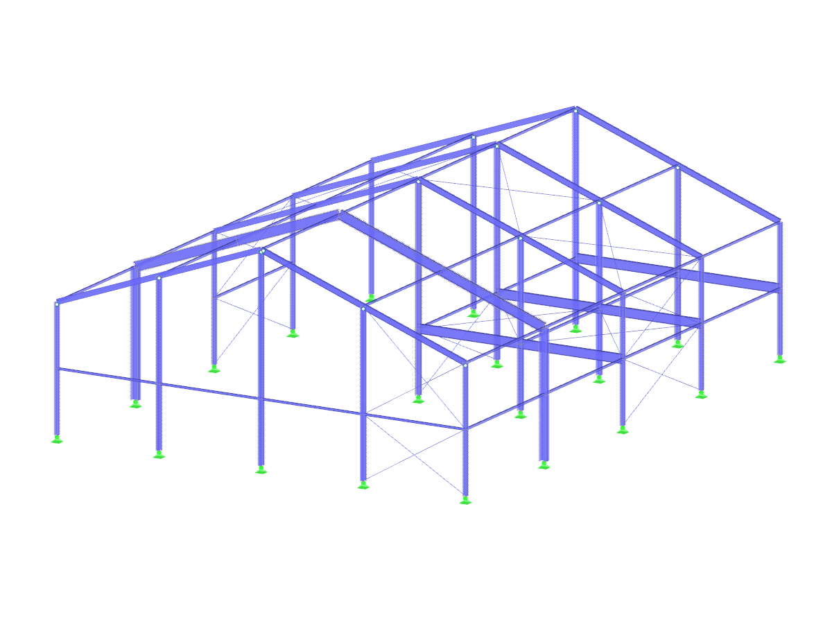 Parametric Steel Hall