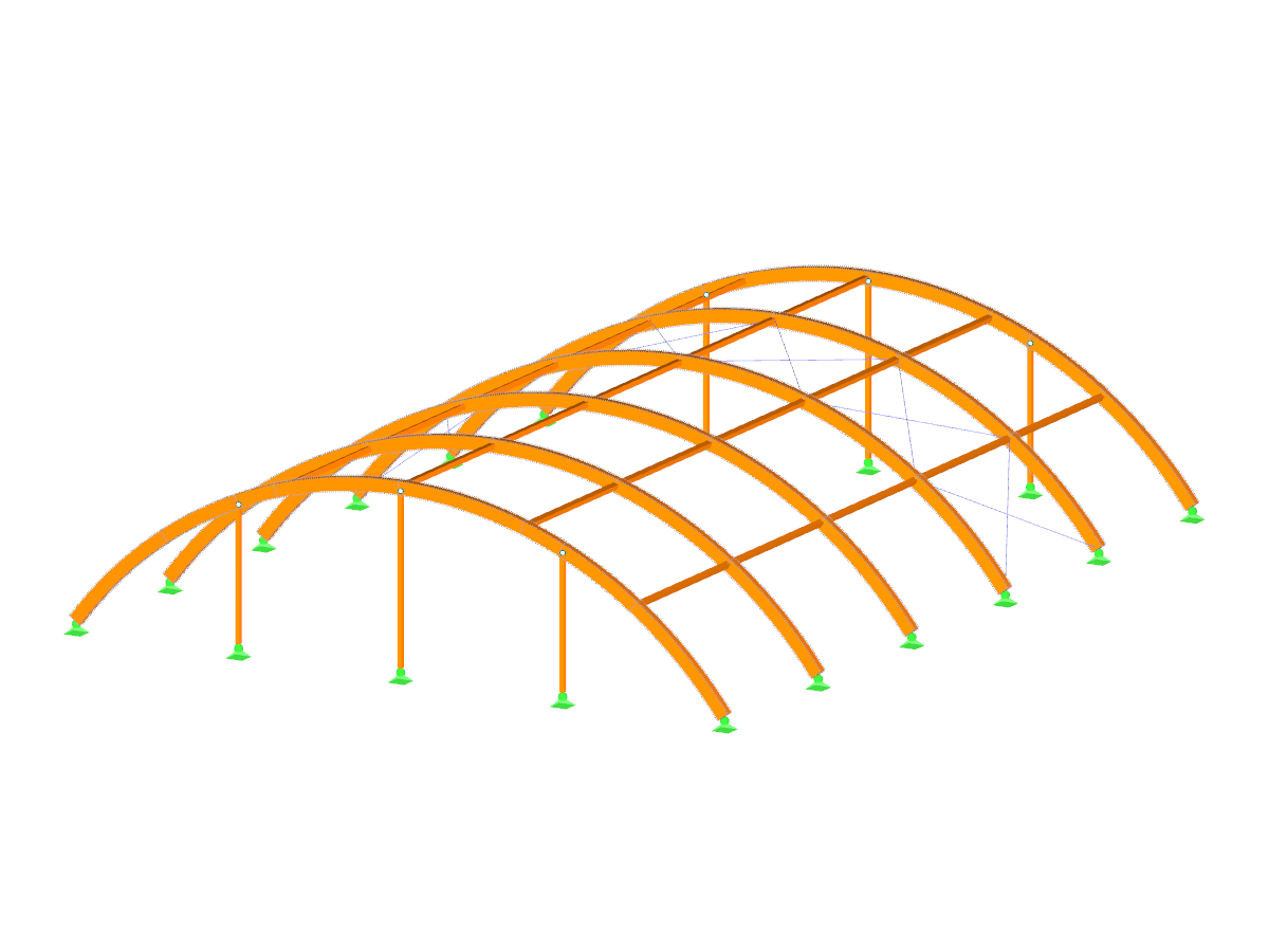 Timber Arch Structure