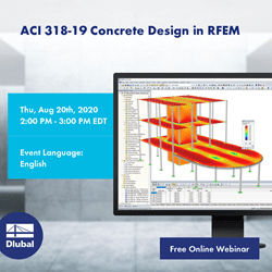 ACI 318-19 Concrete Design in RFEM
