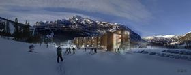 Animation der Hemsedal Alpine Suites in Norwegen (© DBC AS)