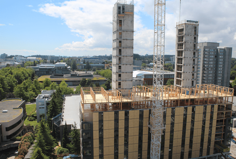 Student residence during construction (as of July 2016) © Seagate Consulting