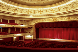 Interior view of the Théâtre Marigny