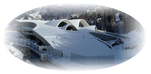 Centrum wodne, Courchevel (© Auer + Weber)