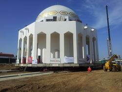 Transport of Mosque in Saudi Arabia