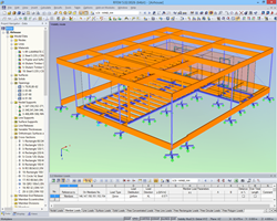 Modello di AIR House in RFEM (© CTU)