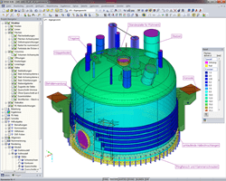 Berechnungsmodell in RFEM (© Peter & Partner)
