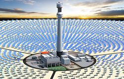 Visualization of the Solar Power Plant (© Cockerill Maintenance & Ingenierie s.a. (CMI))