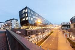 Funke Media Office Street View en Essen, Alemania (© AllesWirdGut, Tschinkersten fotografie)