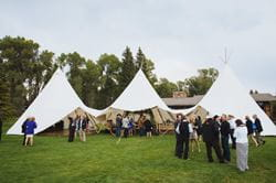 Conjoined CanopyMarqui Tents (© Under Canvas)