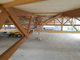 Connection Details of Timber Trusses (© Holz Albertani SpA)