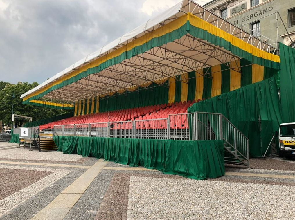 Structure Completed for Event (© NewCover Sas)