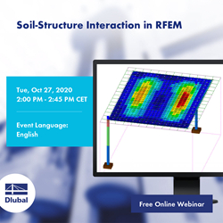 Interaction sol-structure dans RFEM