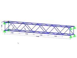 Dimensions of Truss