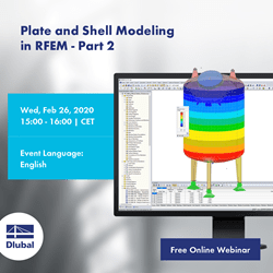 Plate and Shell Modeling \n in RFEM - Part 2