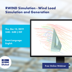 RWIND Simulation - Wind Load Simulation and Generation