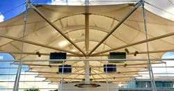 Champagne Bar Roof Underside View (© ptprojects)