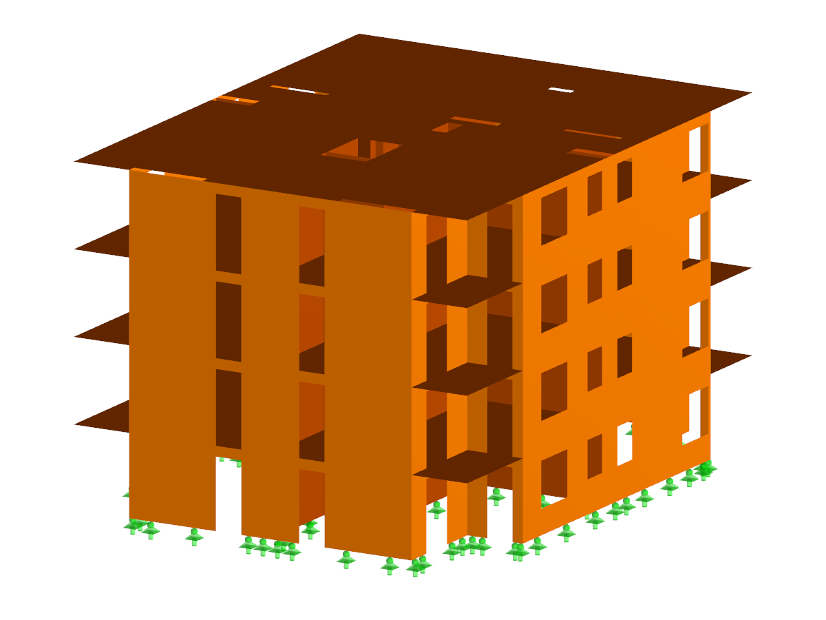 Wooden residential complex