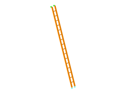 Timber ladder