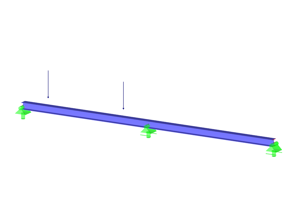 Two-Span Beam