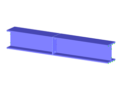 Parameterized FE Model for Designing of Rigid End Plate Joints