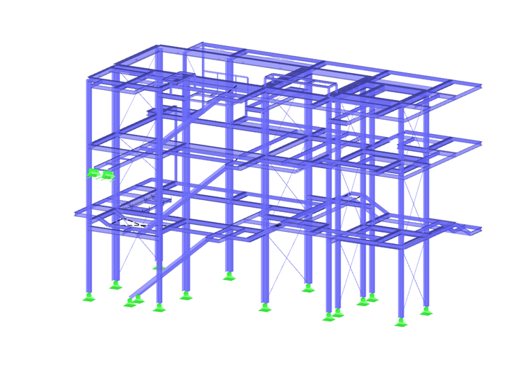 Steel Structure for Boiler House