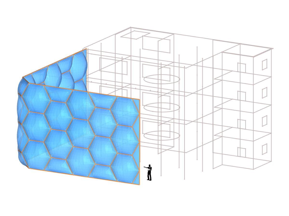 Facade Honeycomb Isometry