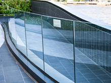 Example for Glass Railing