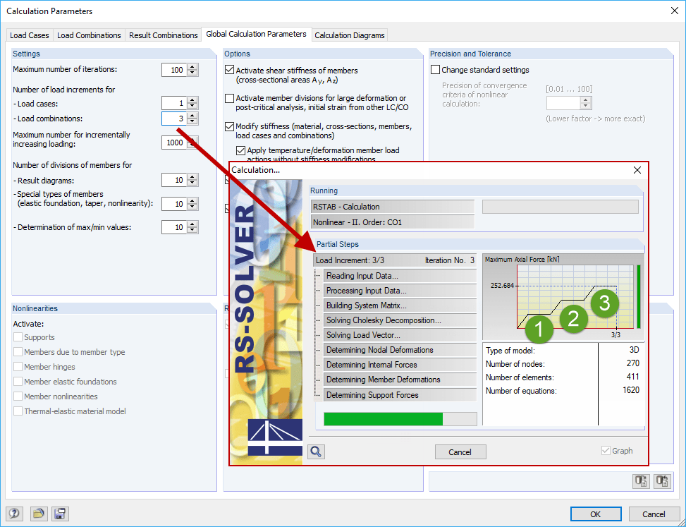 Dialog Box 'New Nodal Support'