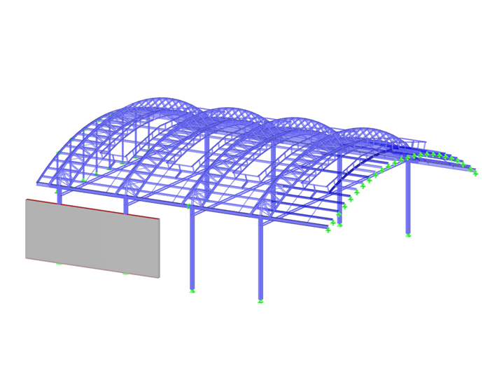 Open-Plan Office Canopy